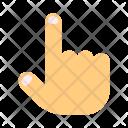 Rise Finger Icon