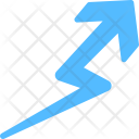 Rising Arrow Icon