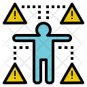 Risk Danger Warning Icon