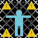 Risk Danger Warning Icon
