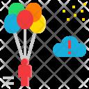 Venture Risk Adventure Icon