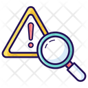 Risk Analysis Risk Assessment Risk Search Icon