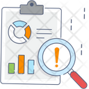 Risk Analysis Business Compliance Risk Assessment Icon
