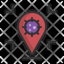 Risk Area Dangerous Danger Icon