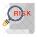 Risk Analysis Risk Assessment Find Risk Icon