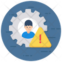 Risk Analysis Risk Management Business Compliance Icon