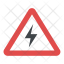 Risk Electric Shock Icon
