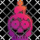 Ritual Black Magic Skull Icon