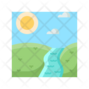 Nature Water River Icon