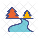 Water Outdoor River Icon