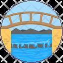 River Bridge Icon