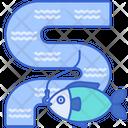 River Fishing Icon