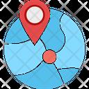 River Location Location Map Icon
