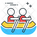 River Rafting River Rafting Icon
