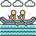 River Rafting Icon