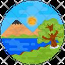 Scenery Nature River Icon