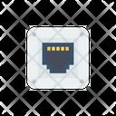 Rj Port Ethernet Icon