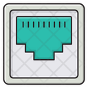 Rj Connector Networking Icon