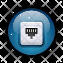 Rj45 connector Icon