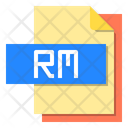 Rm File Format Type Icon