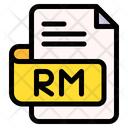 Rm File Type File Format Icon