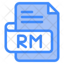 Rm Document File Icon