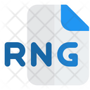 Rng File Audio File Audio Format Icon