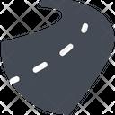 Road Track Drive Icon