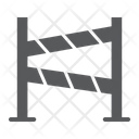 Road Fence Construction Icon