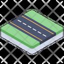 Track Road Street Icon