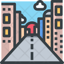 Road City Road Building Icon