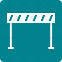 Road Barrier Work Icon