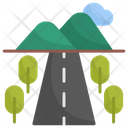 Road Architecture And City Nature Icon
