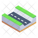 City Road Clean Road Clean Route Icon