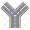 Road Highway Route Icon