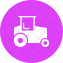 Road Roller Steam Icon