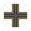 Linked Road Direction Icon