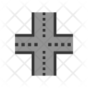 Linked Road Icon