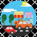 Road Traffic Travel Icon