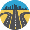 Direction Road Rout Icon