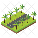 City Roads Roads Boulevard Icon