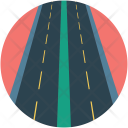 Road Path Direction Icon