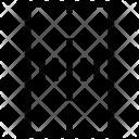 Road Zebra Crossing Icon