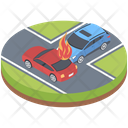Road Accident Icon