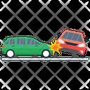 Car Crash Road Accident Car Accident Icon