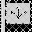 Road arrows Icon