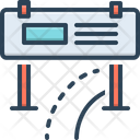 Road-Banner Icon