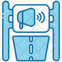 Road Banner Icon
