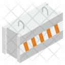 Road Barrier Construction Barricade Barrier Icon