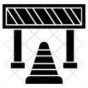 Road Barrier Barricade Road Block Icon